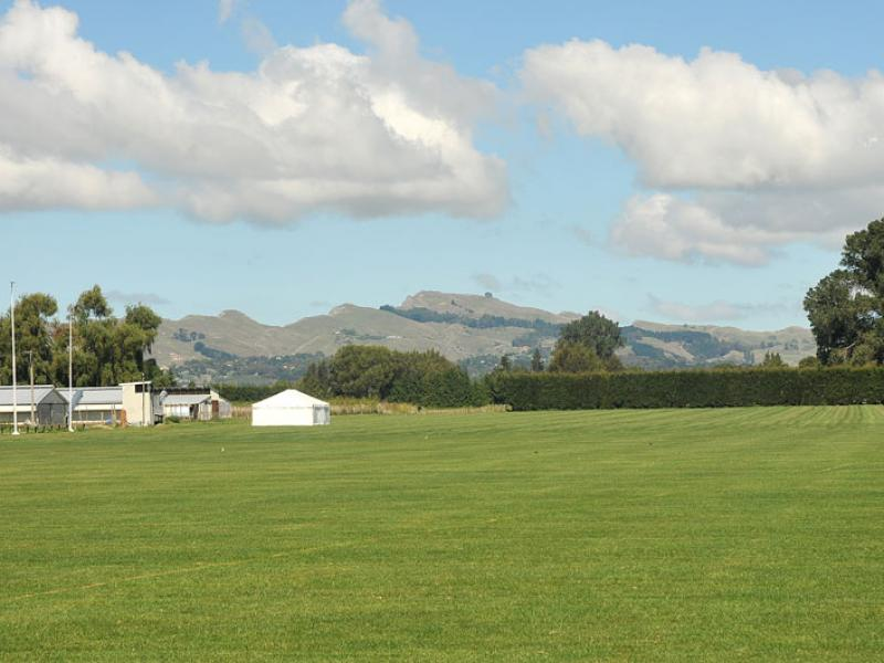 Te Mata Peak from Ellwood Function Centre terrace